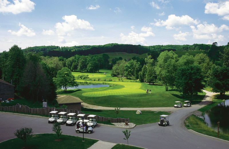 Golf course at Hockley Valley.