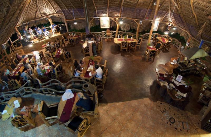 Dining at La Costa de Papito.