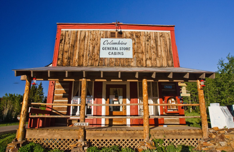 General store at The Cabins at Historic Columbine.