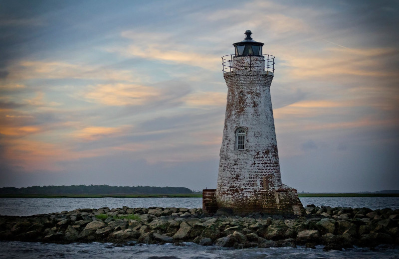 Light house at Tybee Vacation Rentals.
