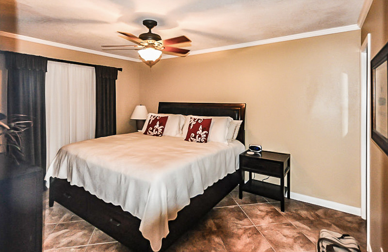 Rental bedroom at All Seasons Accommodations, Inc.