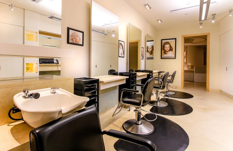 Salon at Sparkling Hill Resort.