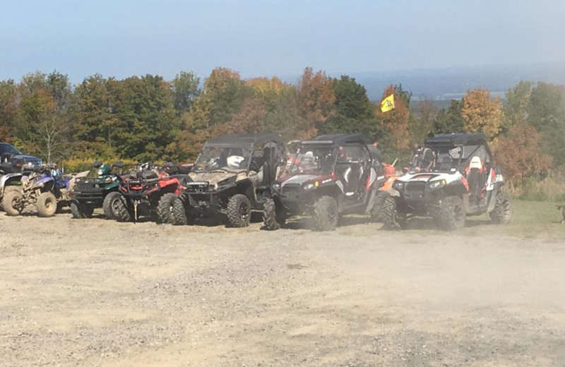 ATV at Timberview Resort.