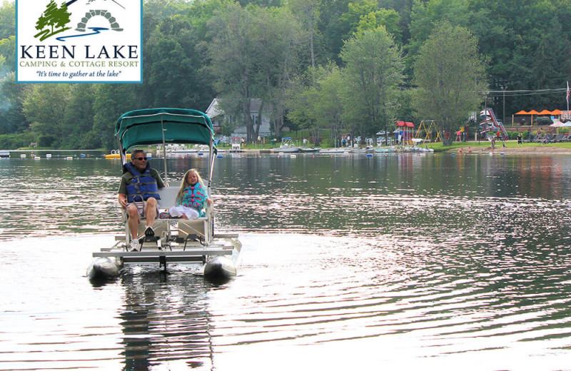 Lake at Keen Lake Camping
