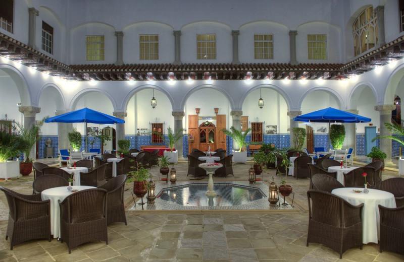 Patio at Hotel El Minzah.