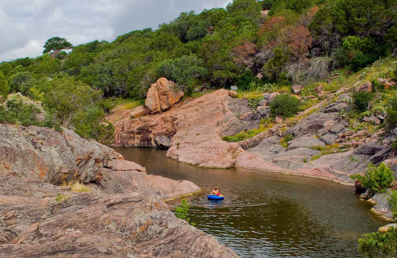 Scenic view at Inks Lake State Park.