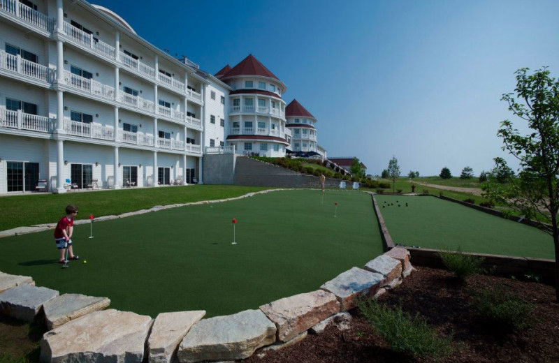 Mini golf at Blue Harbor Resort & Spa.