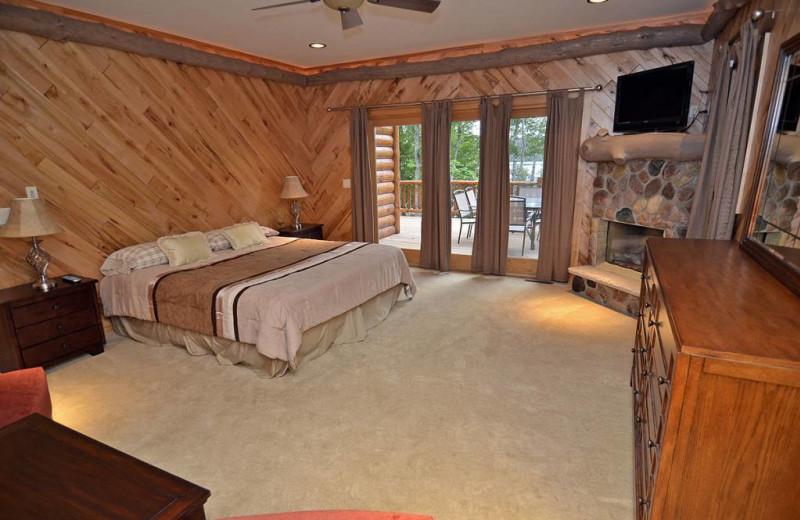 Rental bedroom at Recreational Rental Properties, Inc.