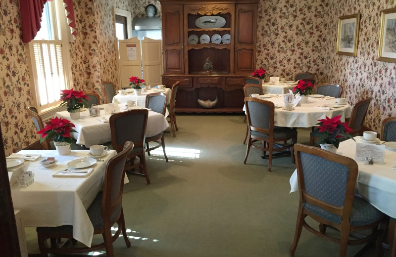 Dining at West Lane Inn.