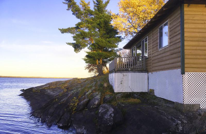 Cabin at Driftwood Lodge Resort.