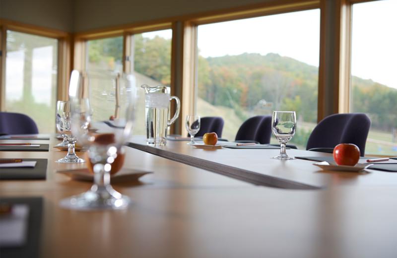 Meetings at Crystal Mountain.