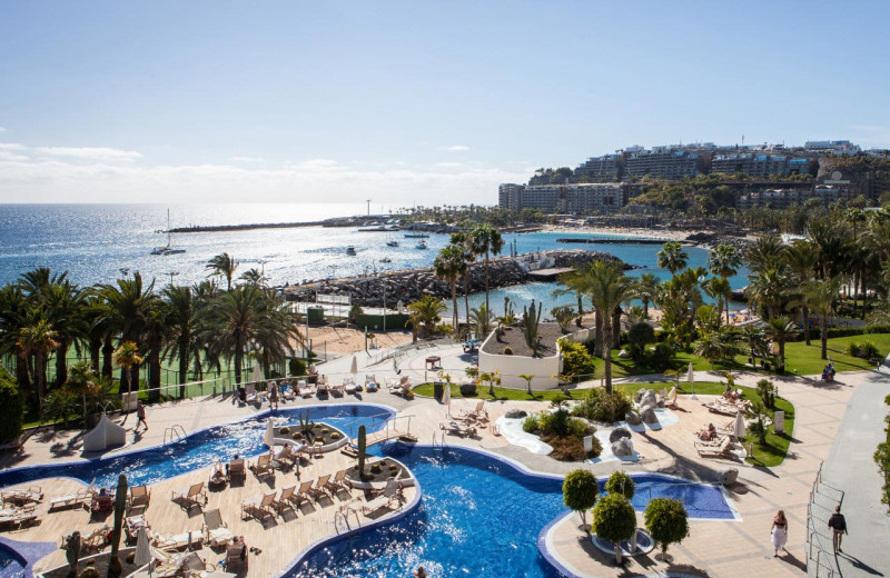 Outdoor pool at Radisson Blu Resort Gran Canaria.