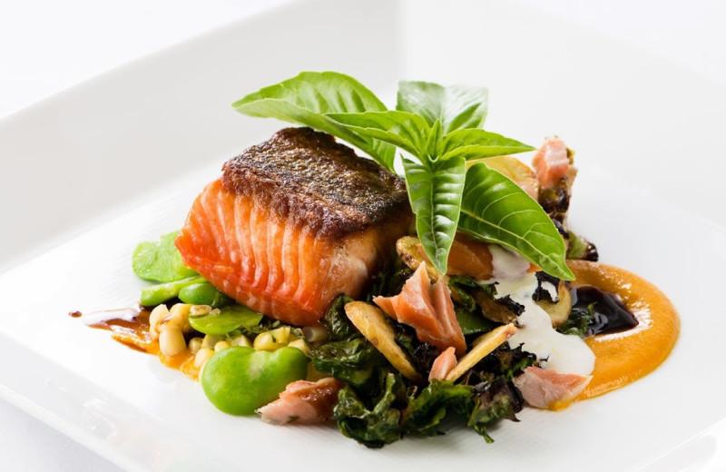 Dinner at Applewood Inn, Restaurant and Spa.