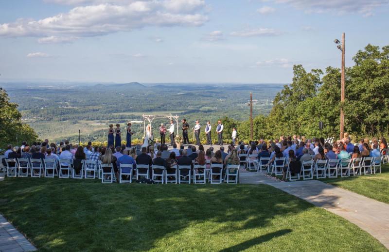 Wedding at Mountain Creek Resort.