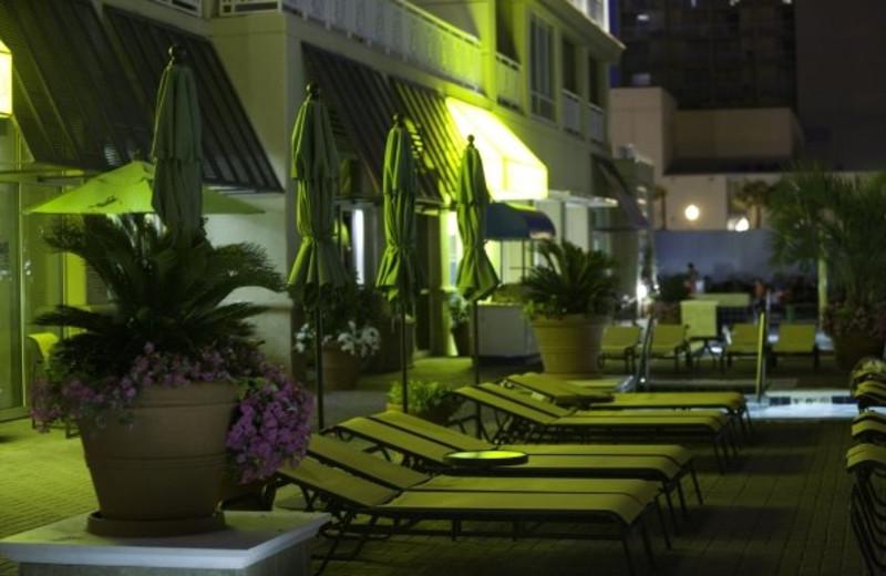 Resort pool chairs at Gold Key Resorts.