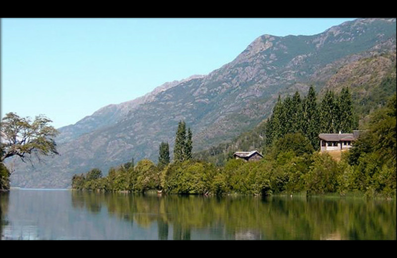 Exterior view of Argentinal Chile Fly Fishing Lodges.