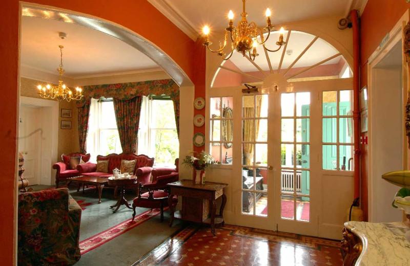 Lobby at Cashel House Hotel.
