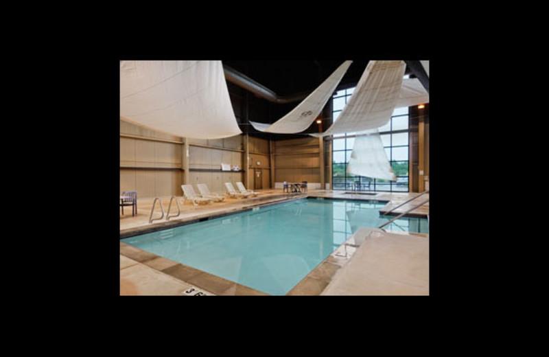 Indoor pool at Ramada Hotel & Resort.