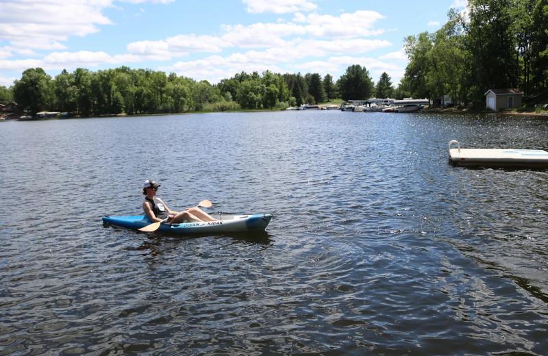 Lake at Sand Lake Resort.
