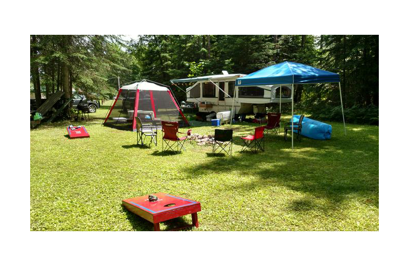 Campground at Rising Eagle Resort.