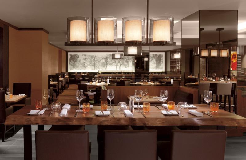 Dining at Ritz-Carlton, San Francisco.