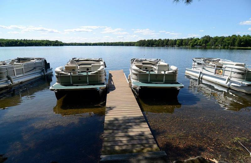 Lake at Grand Pines Resort.