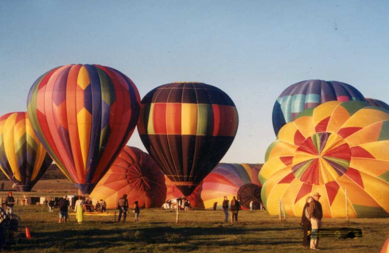 Panguitch Valley Balloon Rally at Color Country Motel.