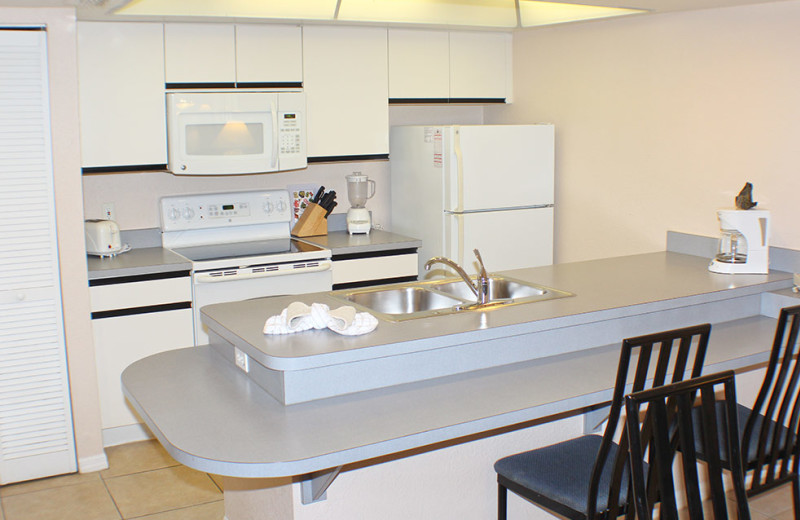 Guest kitchen at Westgate Vacation.