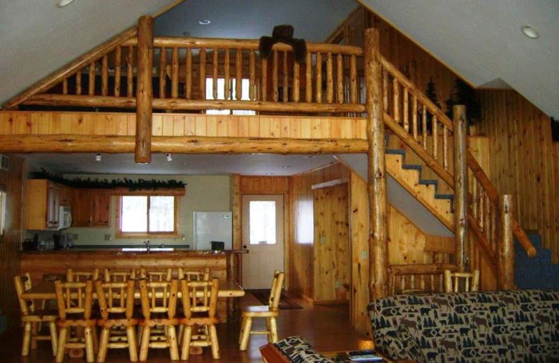 Cabin loft at Timber Bay Lodge & Houseboats