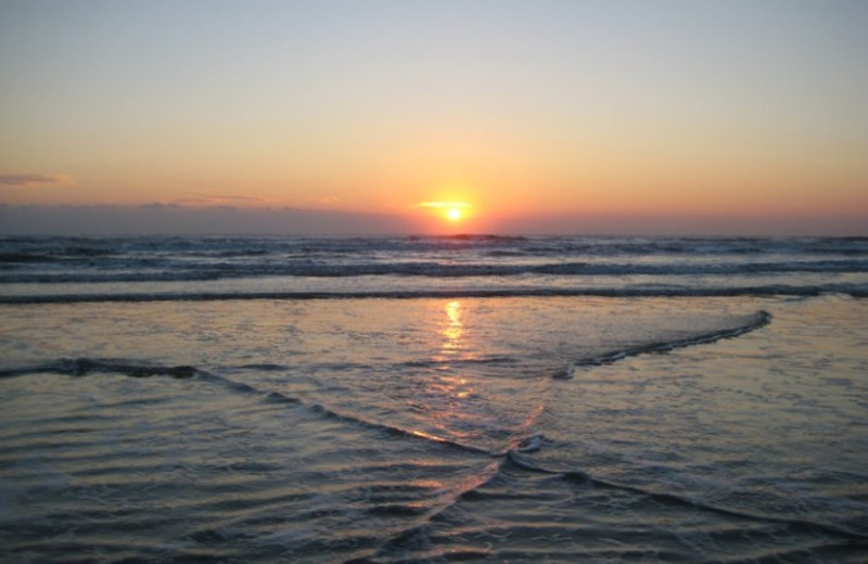 Sunrise at St. Augustine Ocean & Racquet Resort.