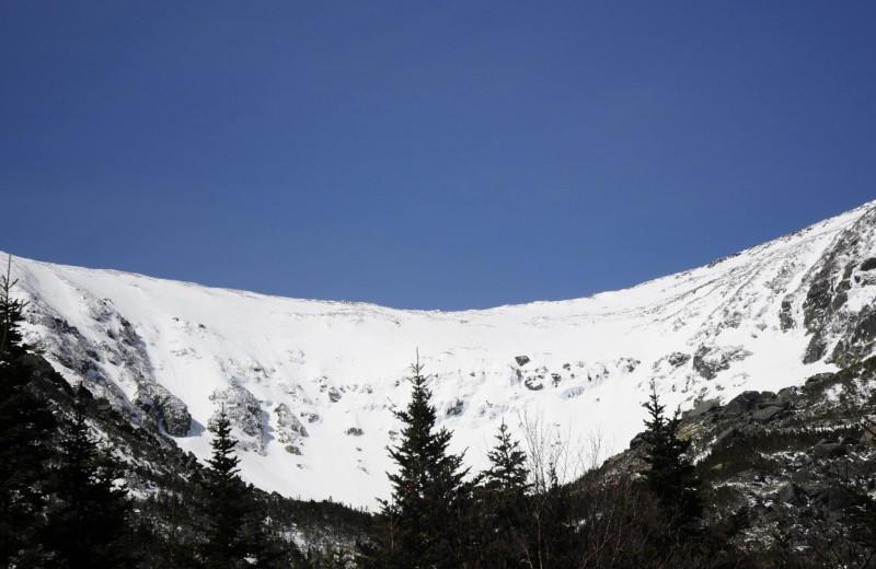 Mountains at Attitash Mountain Village Resort.