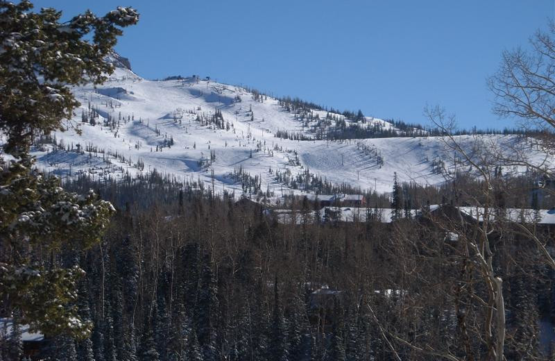 Mountain view at Lori's Luxury Rentals.
