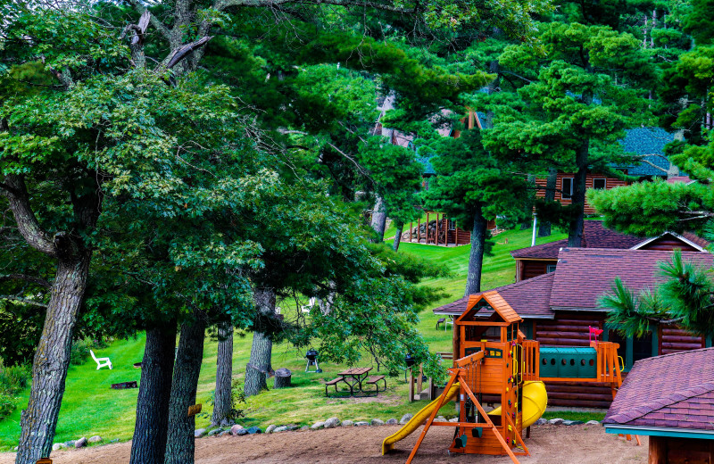 Playground at Wilderness Resort Villas.