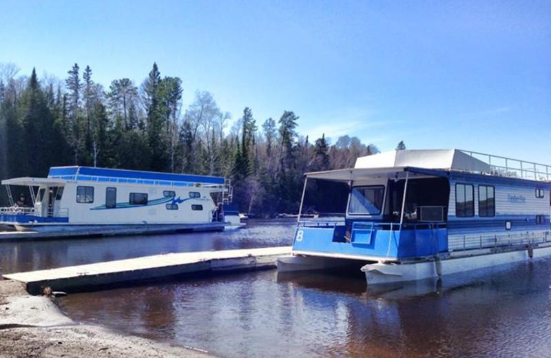 Houseboats at Timber Bay Lodge & Houseboats.
