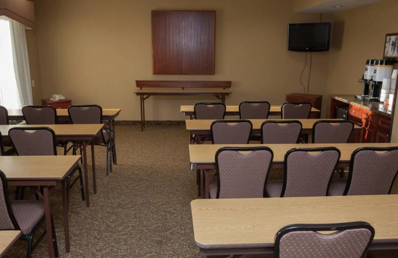 Meetings at Hampton Inn Oneonta.