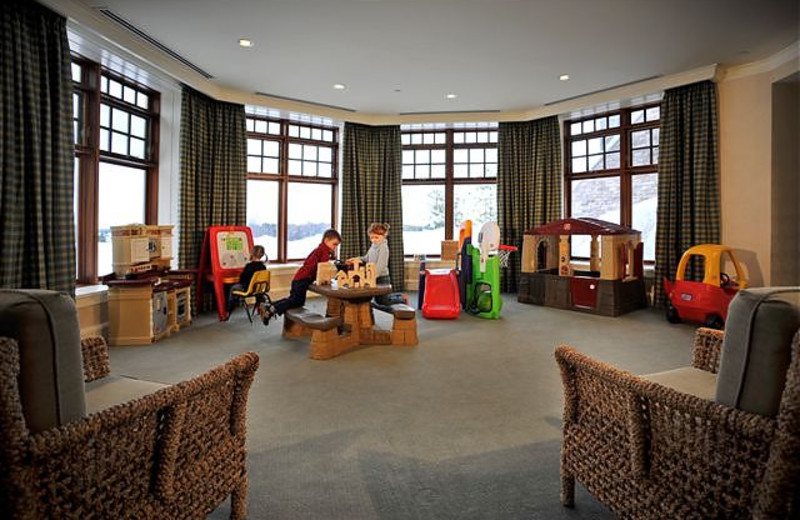 Children's lounge at JW Marriott The Rosseau Muskoka Resort & Spa.
