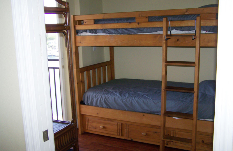 Bunk beds at Madeira Bay Resort.