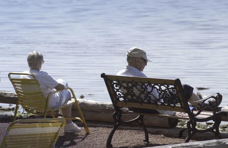 Enjoying the sunshine at The Shallows Resort.
