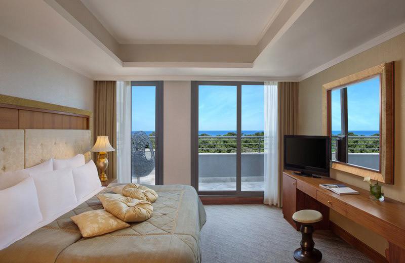 Guest room at Renaissance Antalya Hotel.