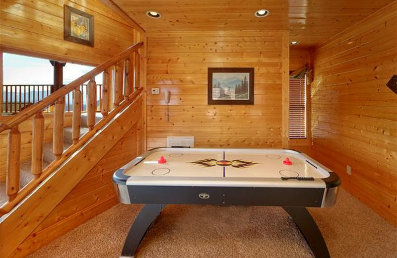Large game room with lots of things to entertain you