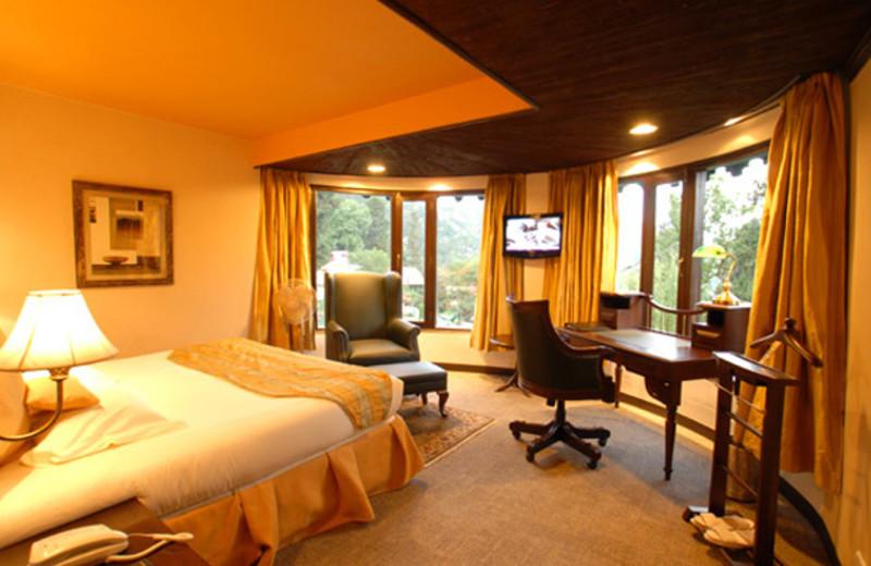 Guest room at Shervani Hill Top, Nainital.