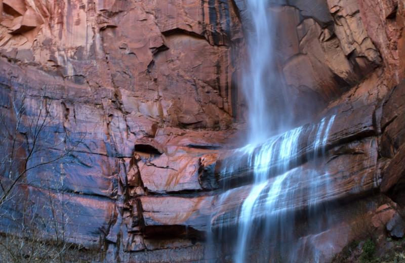 Waterfall at Abbey Inn.