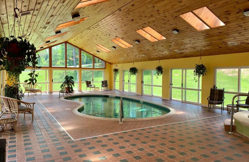 Indoor pool at Hotel Vienna.