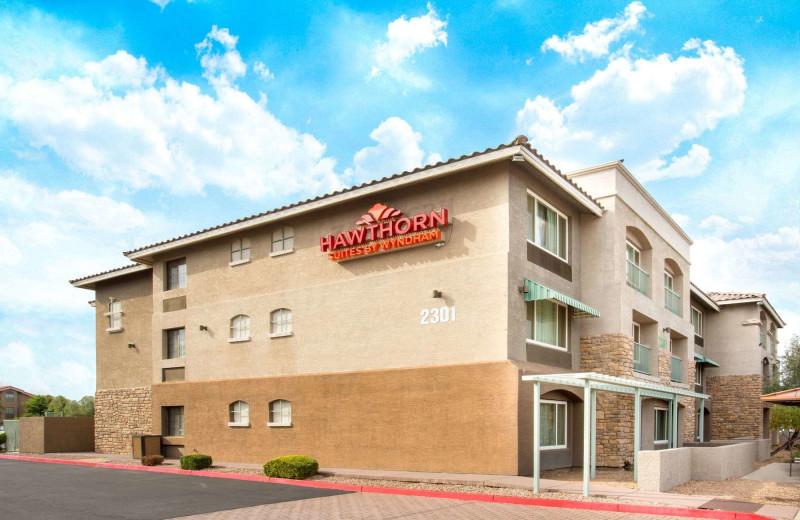 Exterior view of Hawthorn Suites LTD. - Tempe.
