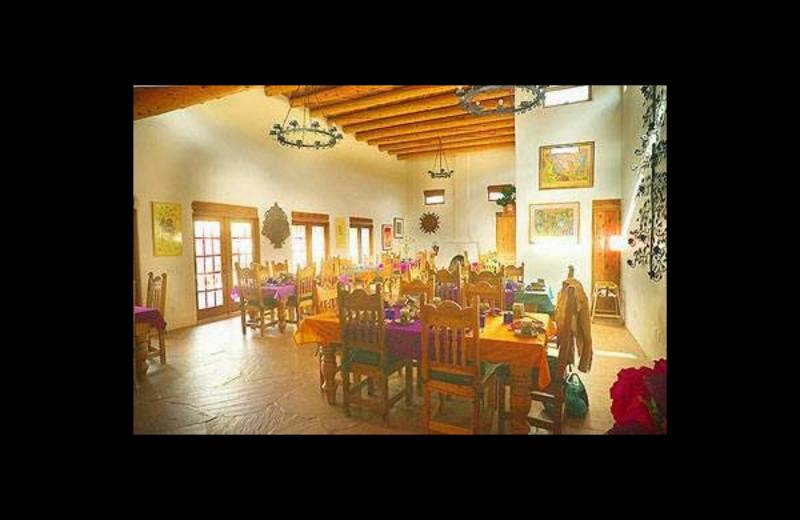 Dining room at Casa Benavides Bed & Breakfast.