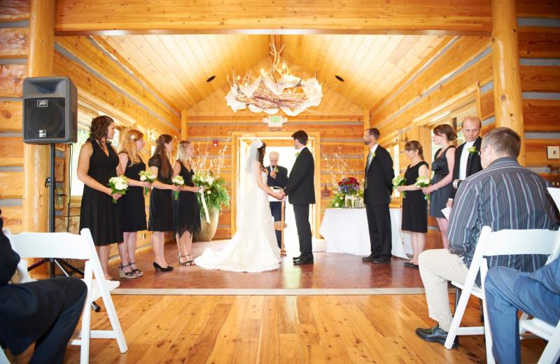 Wedding at Mountain Springs Lodge.