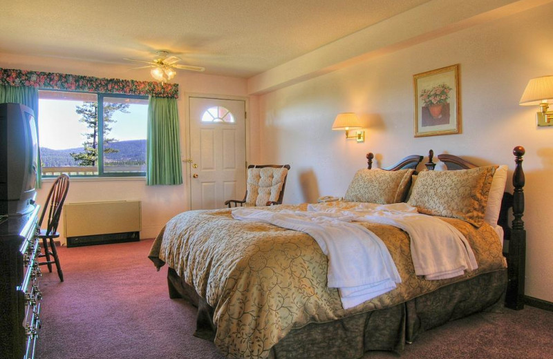 Guest room at The Hills Guest Ranch.
