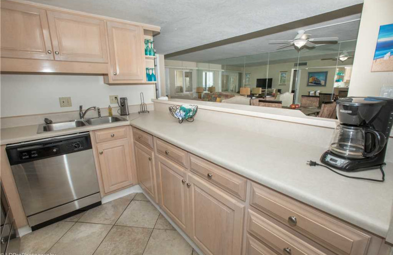 Kitchen at Holiday Isle Properties - Holiday Surf & Racquet 614.
