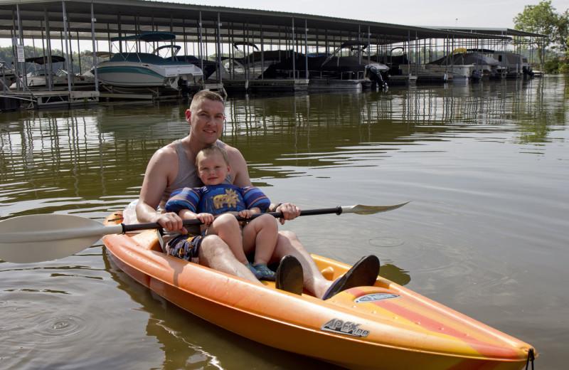 Kayaking at Big Bear