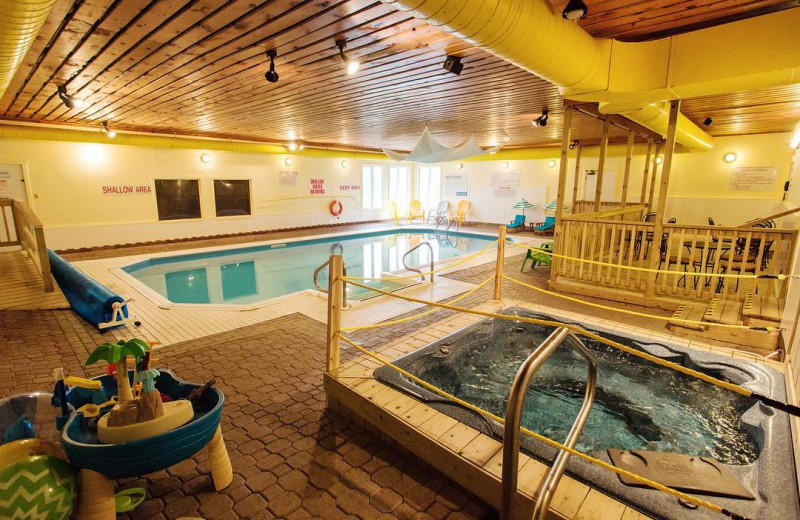 Indoor pool at Great Blue Resorts- McCreary's Beach Resort.